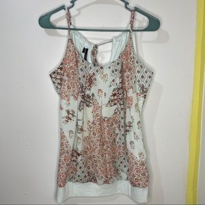Maurices Floral Detail Tank